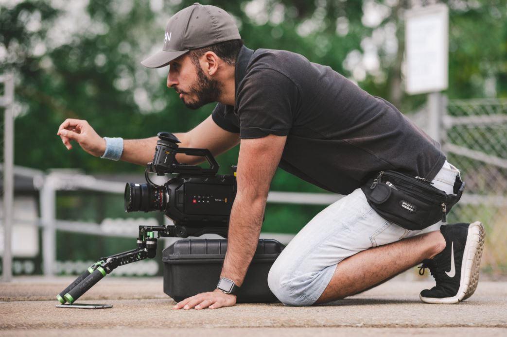Professionelle Filmproduktion